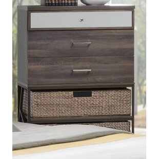 Andromeda 3 Drawer Chest by Gracie Oaks