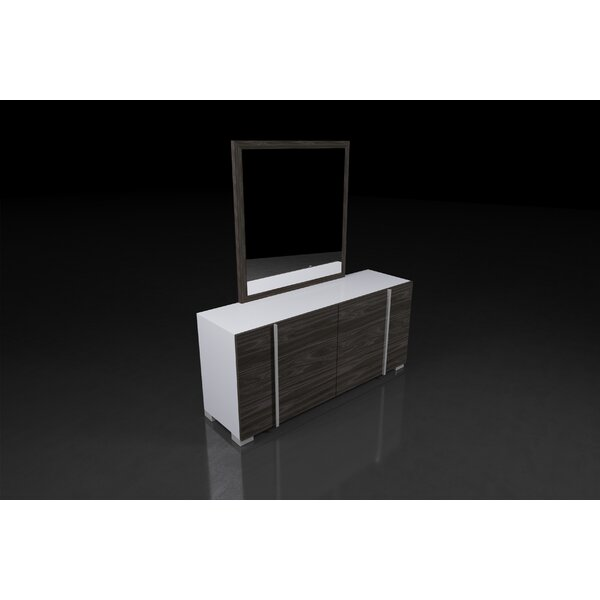 Vernita Italian Modern 3 Drawer Dresser by Orren Ellis