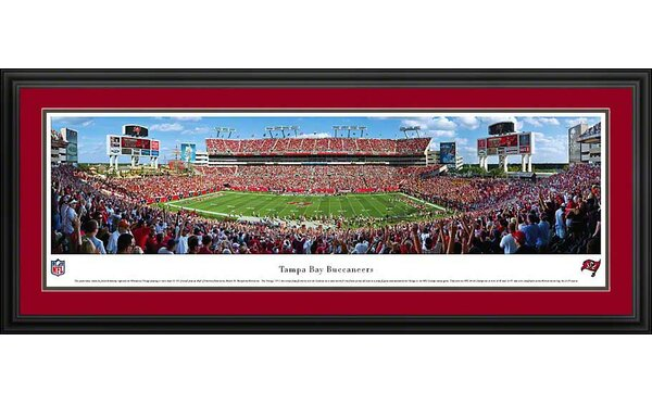 NFL 50 Yard Line Deluxe Frame Panorama by Blakeway Worldwide Panoramas, Inc