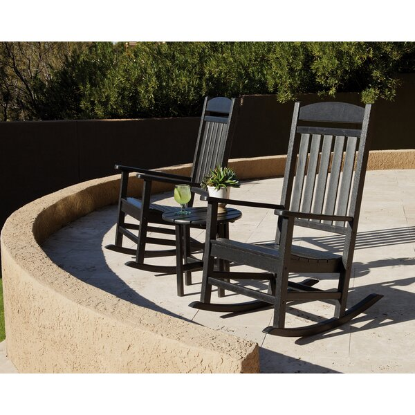 Classics 3-Piece Rocking Chair Seating Set by Ivy Terrace