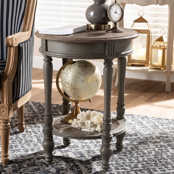 Simms End Table by Bay Isle Home