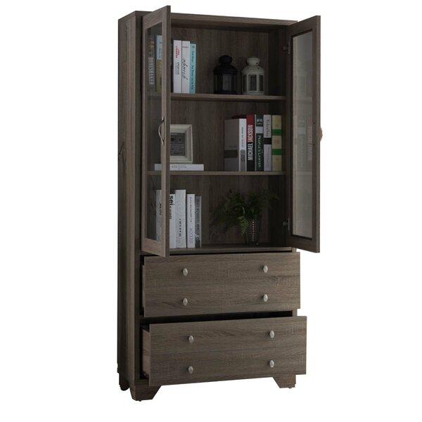 Tickhill Wooden Standard Bookcase By Loon Peak