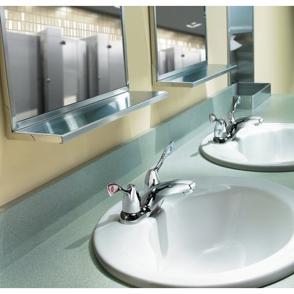 M-Bition Two Handle Centerset Bathroom Faucet With Drain By Moen