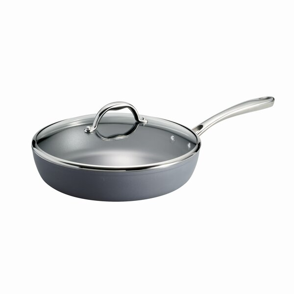 Gourmet Covered Deep 4.5 qt. Saute Pan with Lid by Tramontina