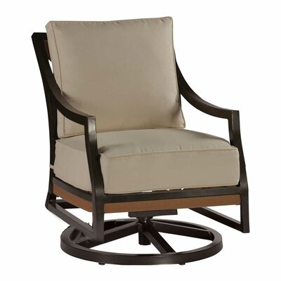 Marvelous Belize Swivel Rocking Chair With Cushions Summer Classics Cjindustries Chair Design For Home Cjindustriesco