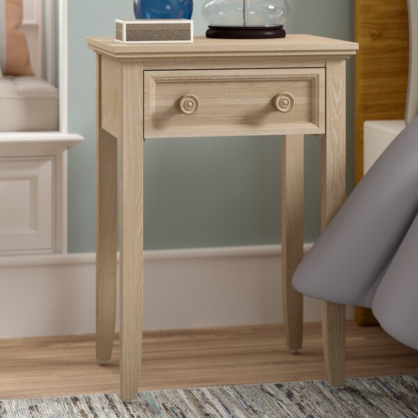 Eastweald 1 Drawer Nightstand by Beachcrest Home