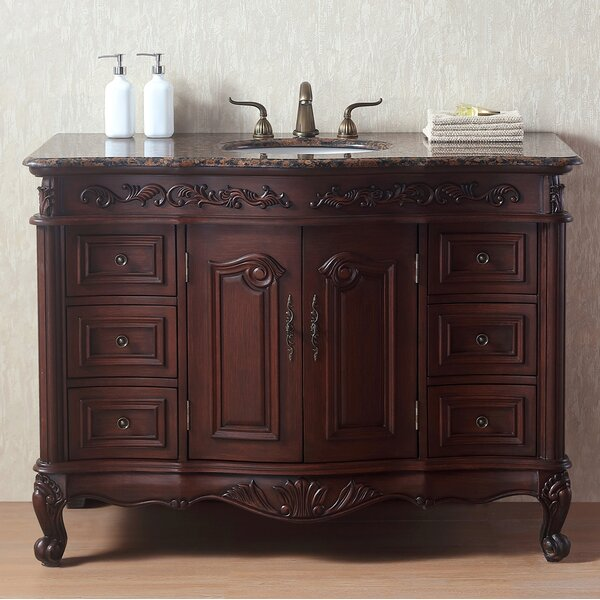 Brockington Traditional 48 Single Bathroom Vanity