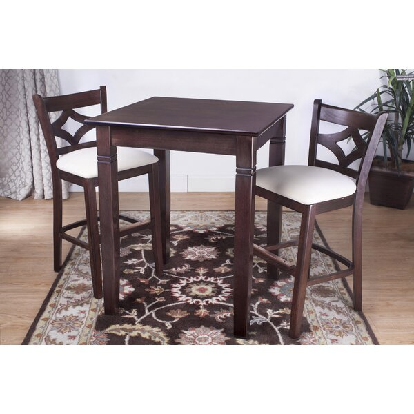 Mignone 3 Piece Pub Table Set by Bloomsbury Market Bloomsbury Market