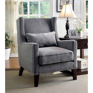 Aura Wingback Chair by Alcott Hill