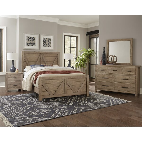 Standard Solid Wood Configurable Bedroom Set by Vaughan-Bassett