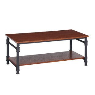 Buy clear Bealeton Faux Wood Coffee Table By Williston Forge
