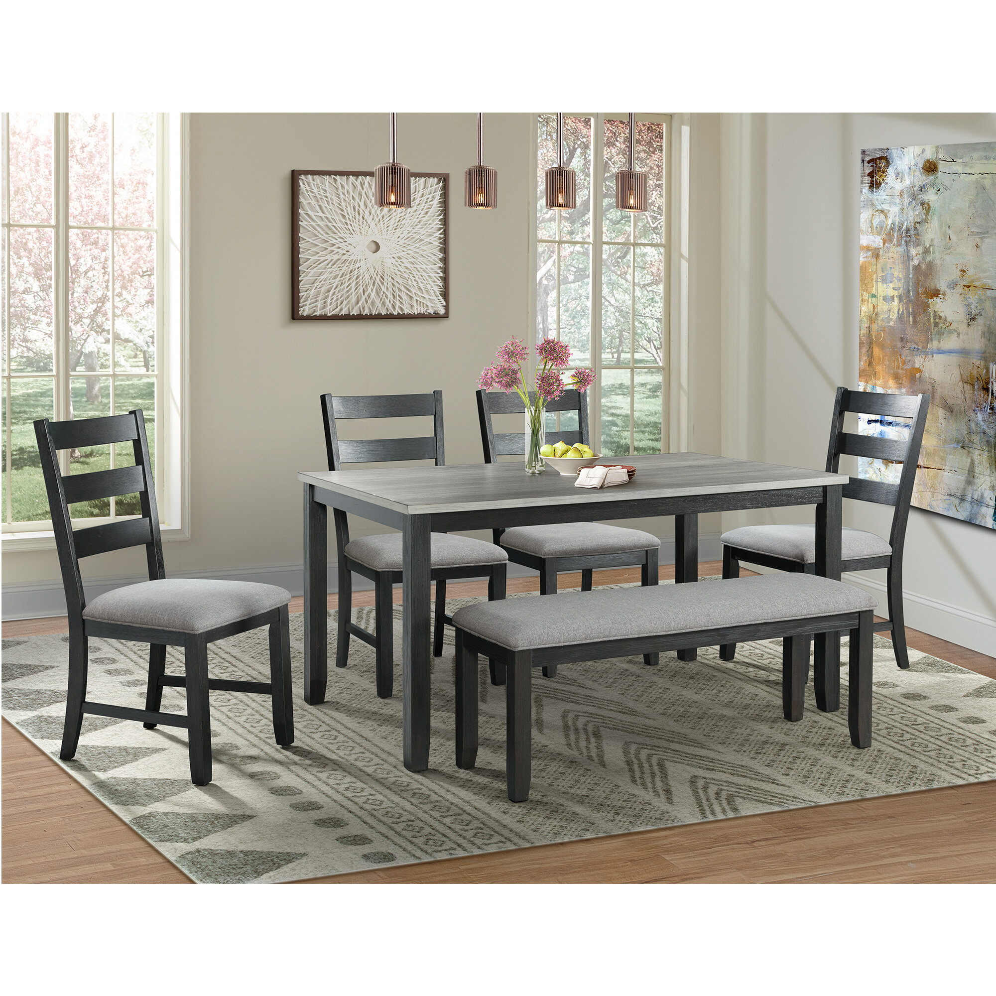 Wayfair Bench Small Kitchen Dining Room Sets You Ll Love In 2021