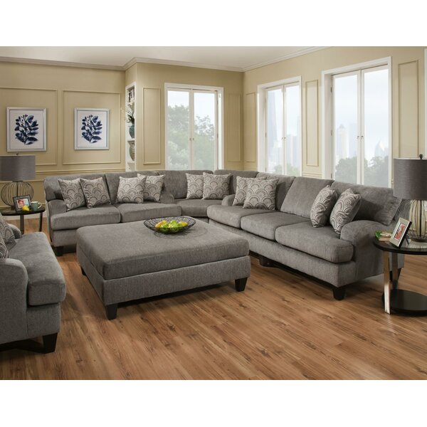 Turney Sectional with Ottoman by Red Barrel Studio