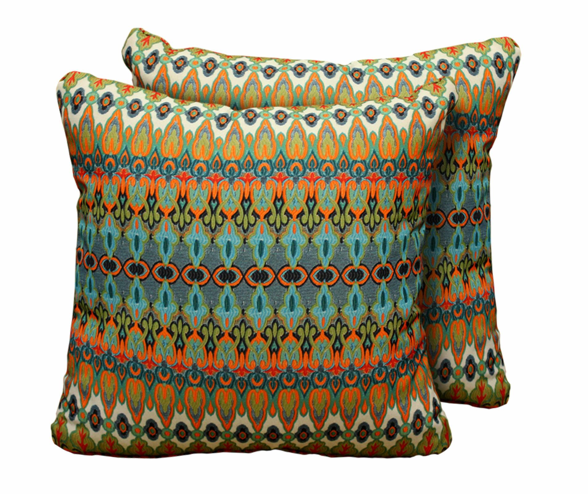 World Menagerie Elliott Indoor Outdoor Throw Pillow Reviews Wayfair