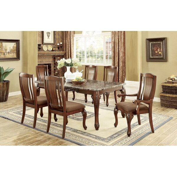 Choe 7 Piece Dining Table Set by Fleur De Lis Living
