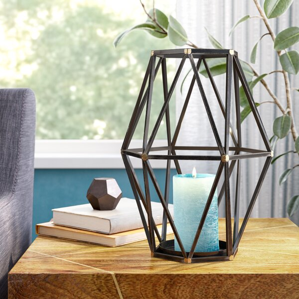 Metal Lantern by Ivy Bronx