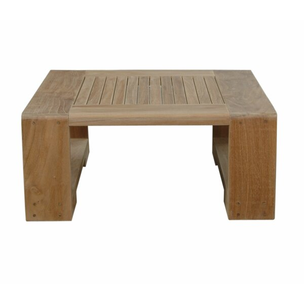 Lochlan Teak Side Table by Rosecliff Heights