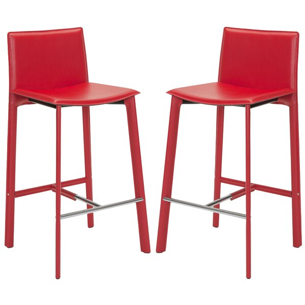 Carrillo 30 Bar Stool (Set of 2) by Wade Logan