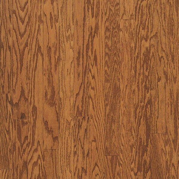 Turlington 5 Engineered Oak Hardwood Flooring in Low Glossy Gunstock by Bruce Flooring