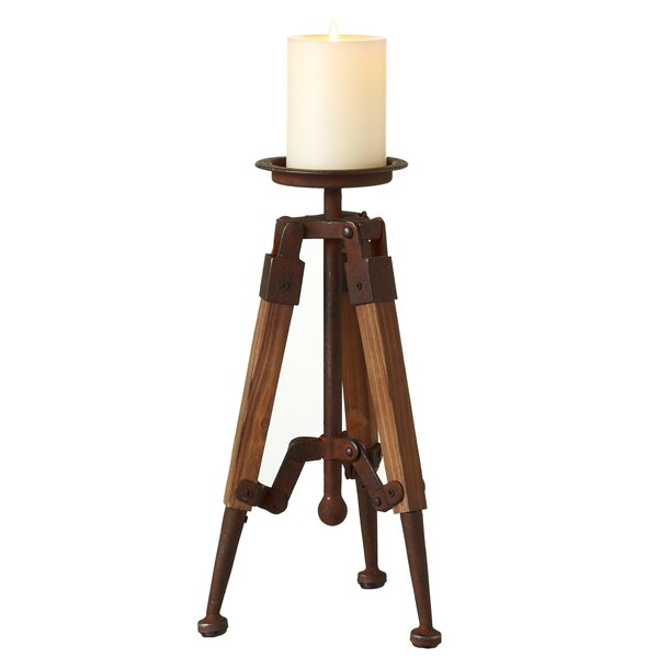 Emblyn Tripod Pillar Candlestick by Longshore Tide
