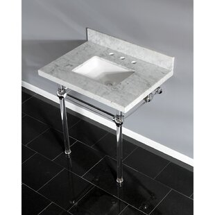 Buy luxury Templeton Stone Rectangular Undermount Bathroom Sink with Overflow ByKingston Brass