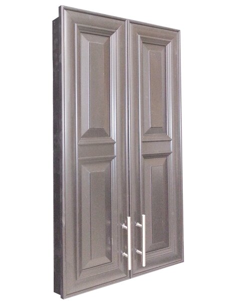 Overton 21 W x 38 H Recessed Cabinet by WG Wood Products