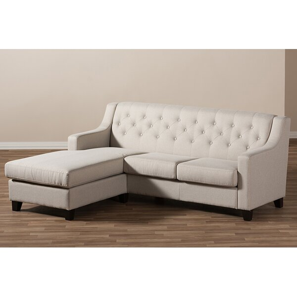 Review Saville Left Hand Facing Sectional
