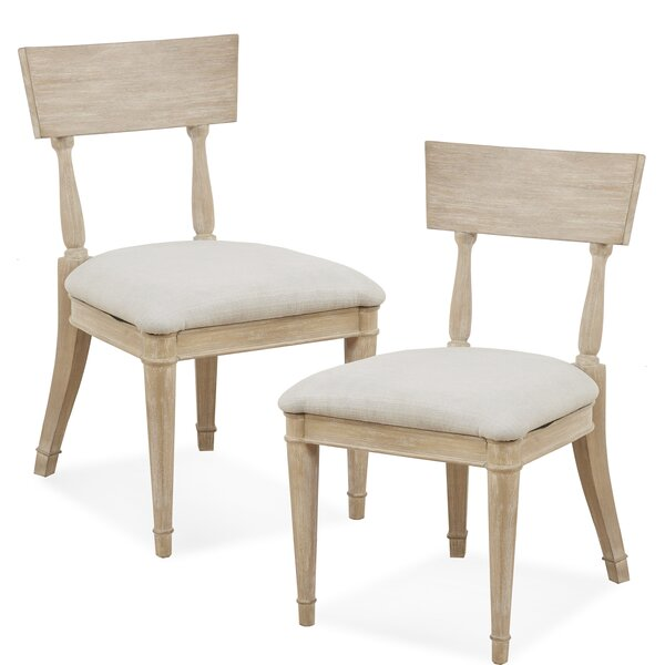 Whelington Upholstered Dining Chair (Set of 2) by Madison Park Signature