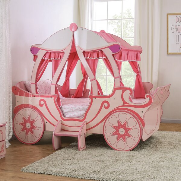 Garlington Twin Car Bed by Zoomie Kids
