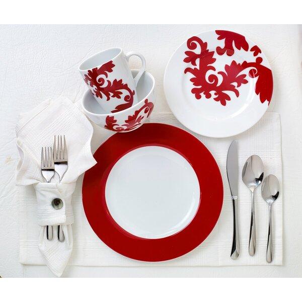 Calarama 16 Piece Dinnerware Set, Service for 4 by Euro Ceramica