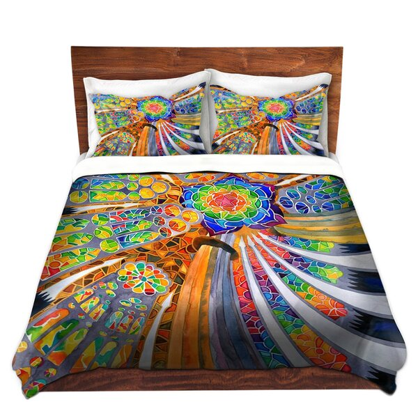 Sagrada Familia Barcelona Spain Duvet Cover Set