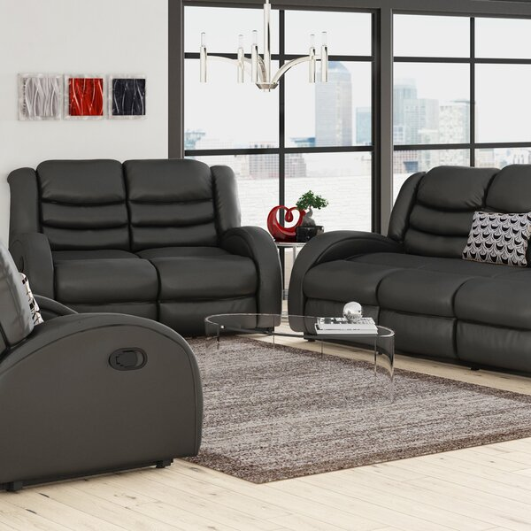 Mcpeak 3 Piece Living Room Set