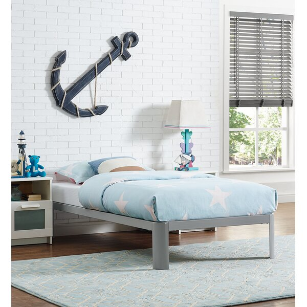Sperry Twin Platform Bed by Wrought Studio