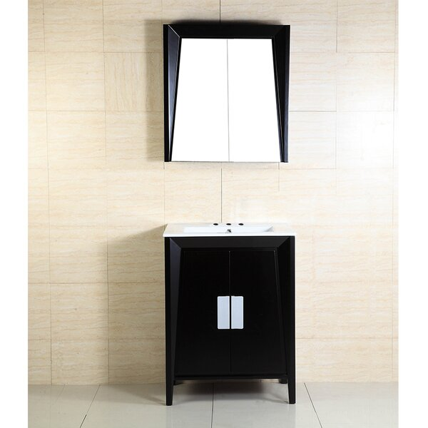 24 Single Sink Wood Vanity Set by Bellaterra Home