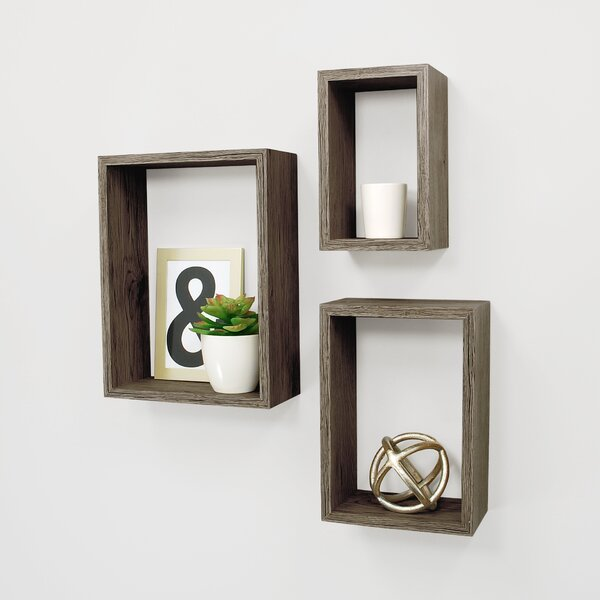 Nesting 3 Piece Wall Shelf Set by Kiera Grace
