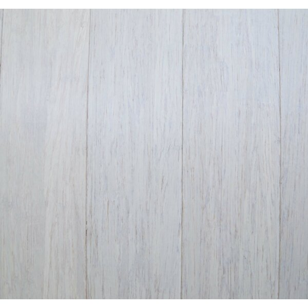 3-5/8 Solid Bamboo Flooring in White by Islander Flooring