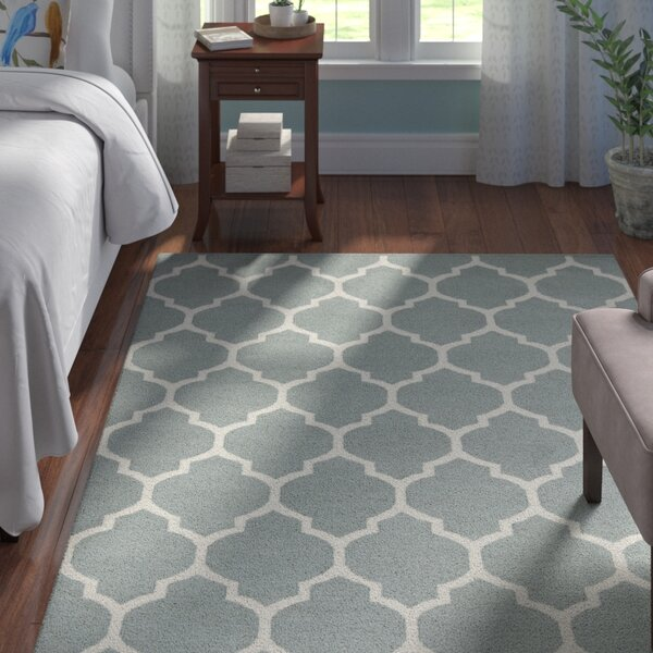 Bohannon Charcoal Geometric Area Rug by Andover Mills