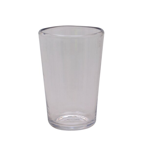 Lia Highball Glass 19 oz. Plastic (Set of 12) by Ebern Designs
