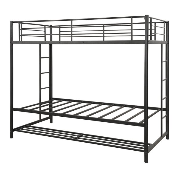 Schaeffer Twin over Twin Bunk Bed with Shelf by Isabelle & Max