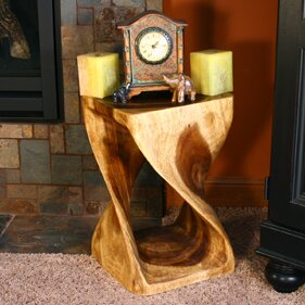 Rebecca Twist End Table By World Menagerie
