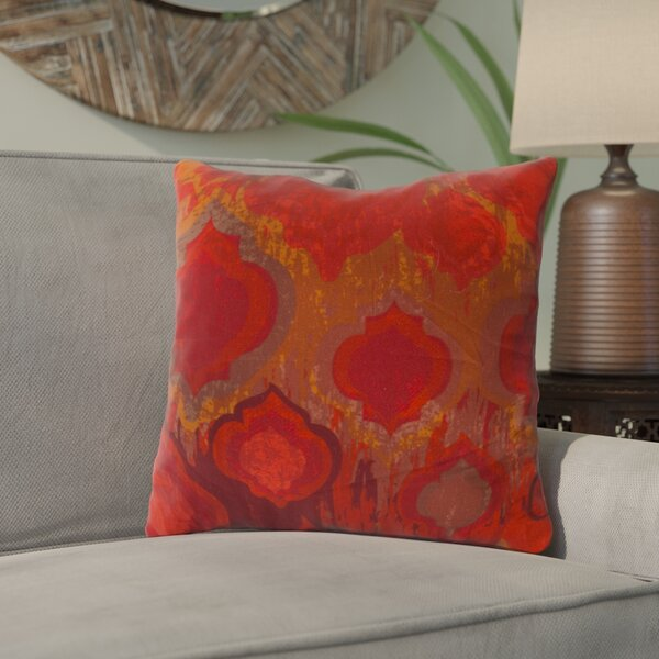 Korra Cotton Throw Pillow by Bloomsbury Market
