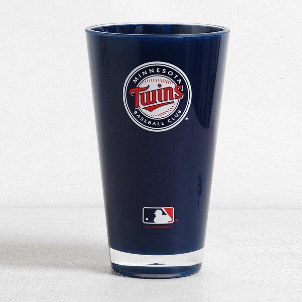 MLB Single Martini Glass 20 oz. Plastic by DuckHouse