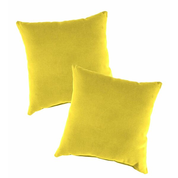 Replacement Lounge Chair Pillow Cushion (Set of 2) by Plow & Hearth