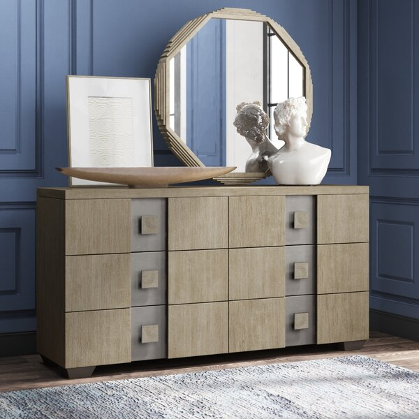 Mosaic 6 Drawer Double Dresser by Bernhardt
