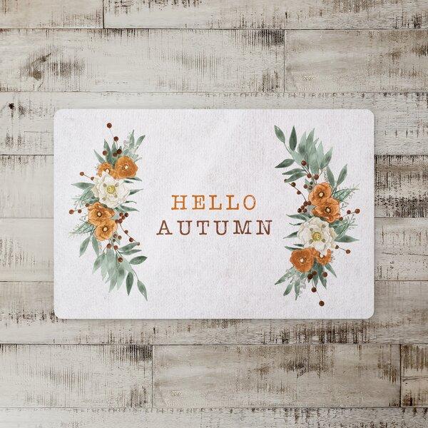 Milner Autumn Wreath Kitchen Mat