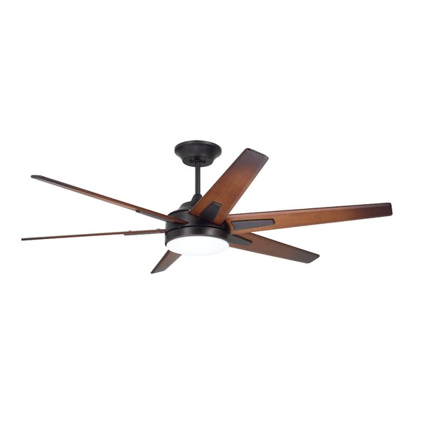 60 Durst 6 Blade LED Ceiling Fan by 17 Stories