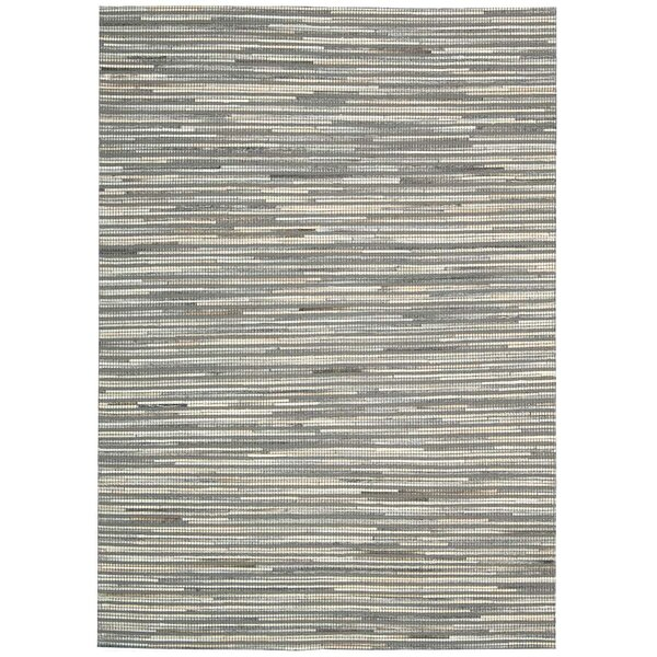 Capelle Hand-Woven Silver Area Rug by Nourison