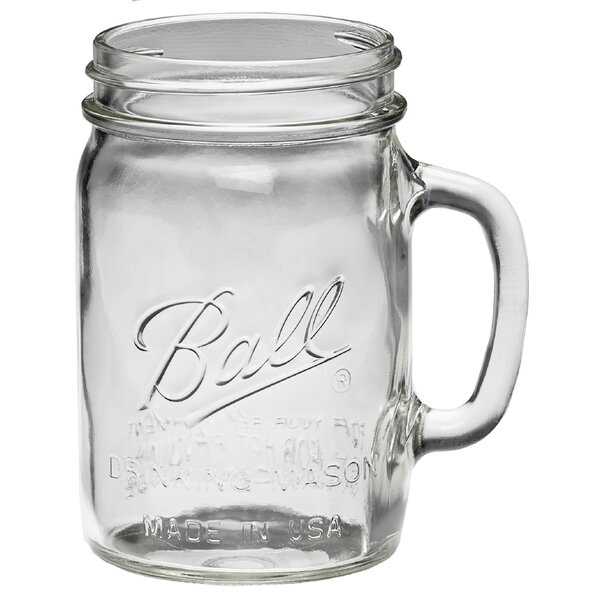 24 oz. Glass Mason Jar (Set of 4) by Ball