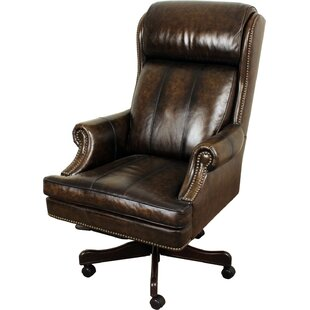 Leather Office Chairs Youu0027ll Love | Wayfair