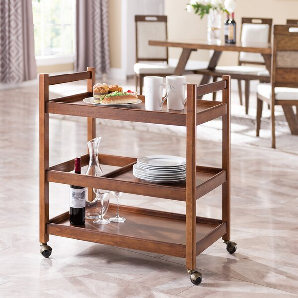 Mullins Bar Cart by Gracie Oaks